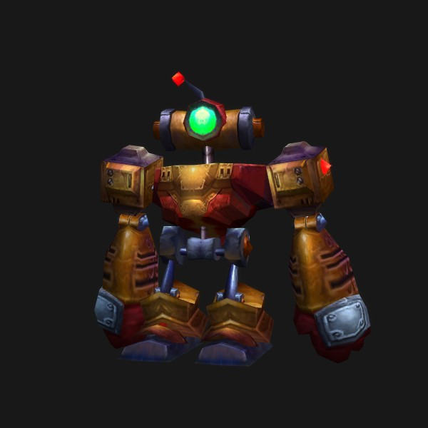 Clockwork Rocket Bot