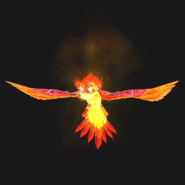 Phoenix Hatchling - preview